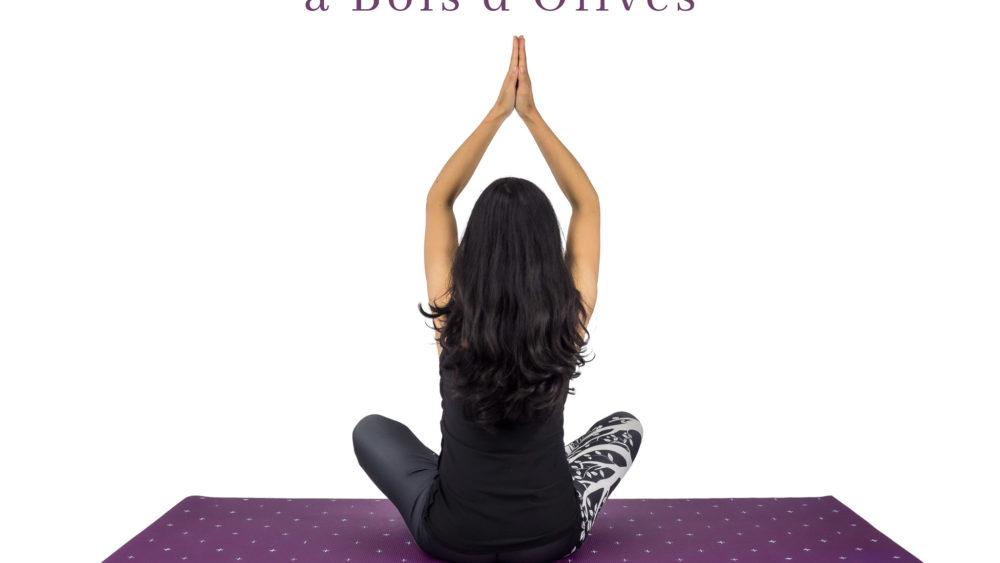 Affiche séances de yoga à Bois d'Olives Saint-Pierre La Réunion
