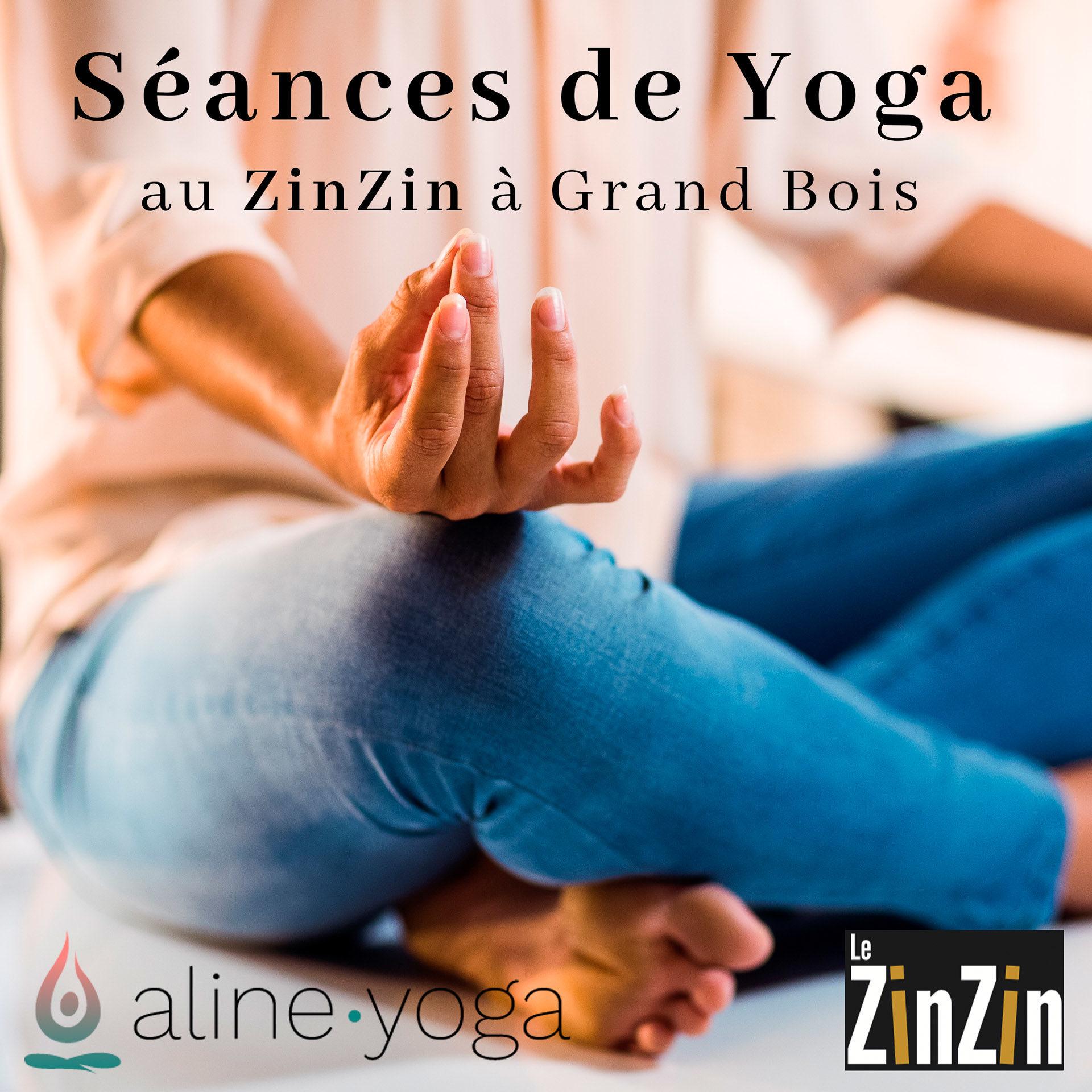 annonce séance de yoga aline yoga